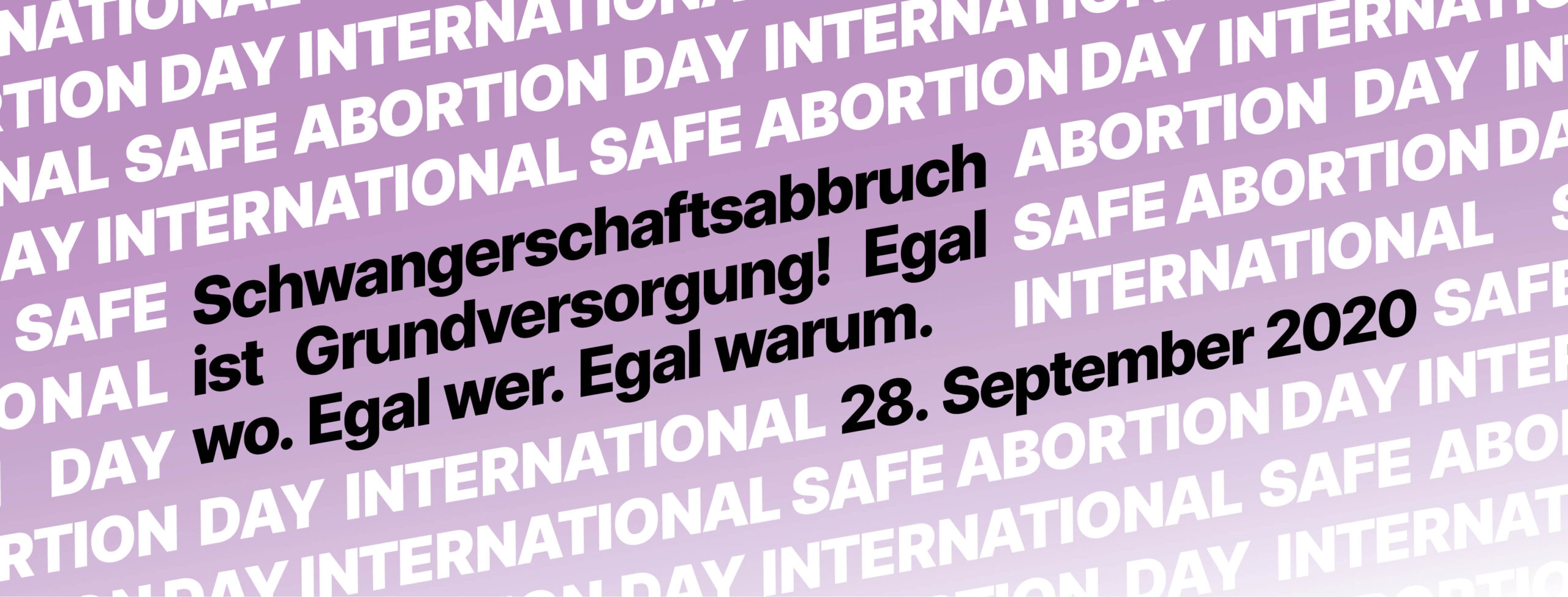 Stellungnahme: Safe Abortion Day
